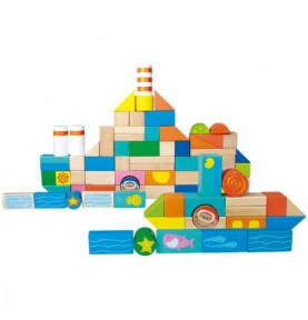 Jeu de construction - Marin Montessori