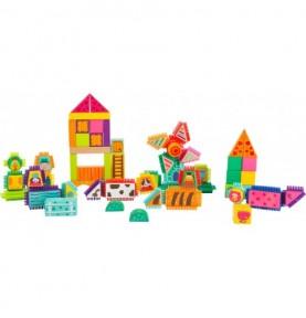 Jeu de construction à picots - Ferme Montessori