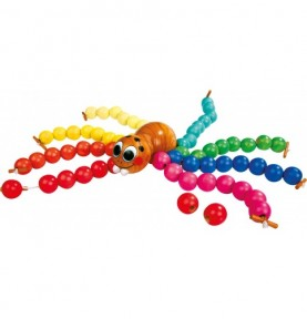 Araignée à enfiler Montessori