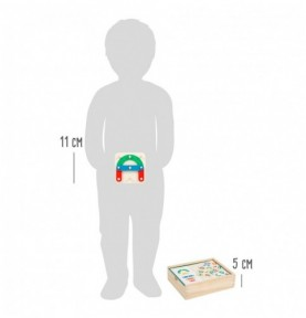 Jeu de reconstruction - Chiffres et lettres Montessori