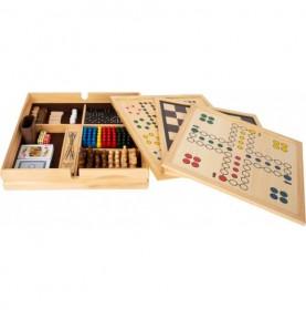 Coffret de 20 jeux de société Montessori