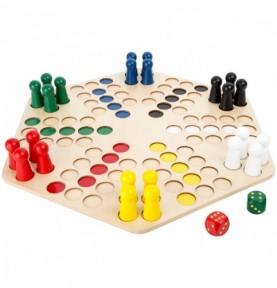Ludo XXL - 6 joueurs Montessori