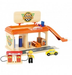 Station automobile - SmallWorld Montessori