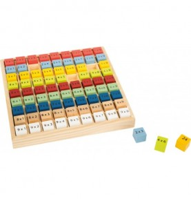 Socle de table des Multiplications - Couleur Montessori