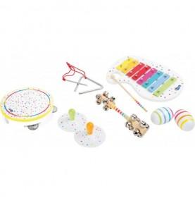 Set musical - Blanc pois et couleurs Montessori