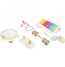 Set musical - Blanc pois et couleurs Montessori