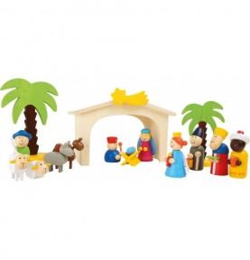 Crèche en bois Montessori