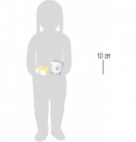 Bouilloire et 2 tasses Montessori
