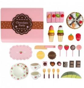 Coffret à friandises et chocolat Montessori