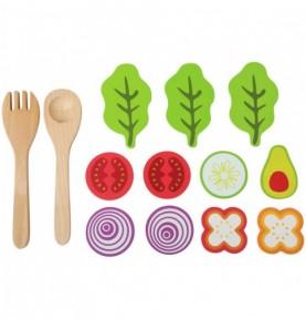 accessoires en bois aliments dinette