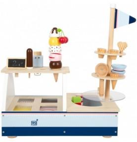 Stand marchand de glaces Montessori