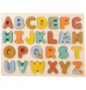 Puzzle Alphabet - apprendre l'alphabet
