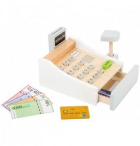 caisse enregistreuse jouet bois