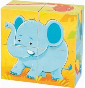 Puzzle de cubes bébé