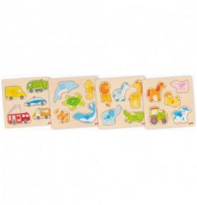 Puzzle à encastrement Montessori