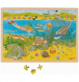 Puzzle sensibilisation écologie Montessori