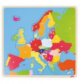 Puzzle Europe Montessori
