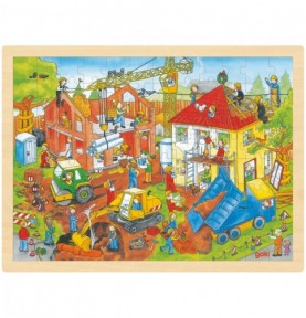Puzzle chantier Montessori