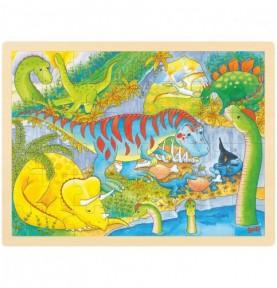 Puzzle 48 pièces - Dinos Montessori