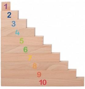 Grandes réglettes de calcul Montessori