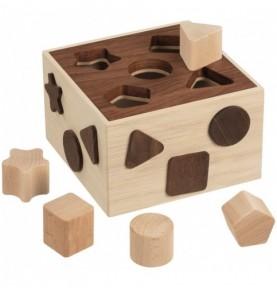 Boîte à formes - Nature Montessori