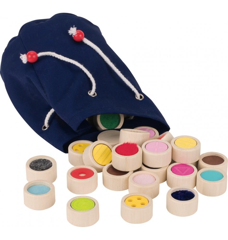 Mémo tactile - memory tactile Montessori