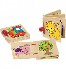 Imagier en bois  Montessori