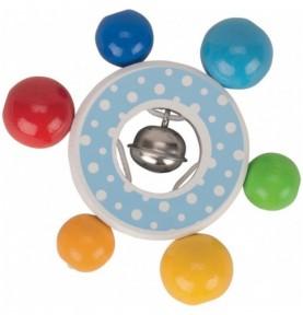 Hochet confetti Montessori