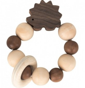 Hochet hérisson - nature Montessori