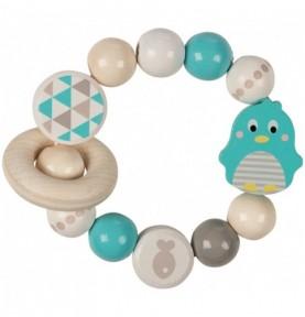 Hochet anneau l'Oiseau bleu Montessori