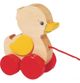 Canard - Jouet à tirer Montessori