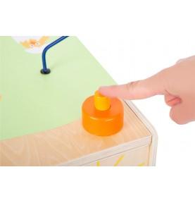 cube en bois bebe