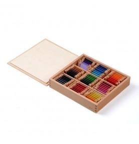 boite couleur montessori