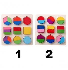 Puzzle bébé Montessori