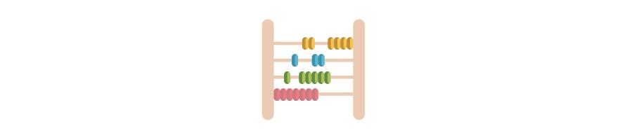Apprendre le calcul : Apprendre les chiffres Montessori