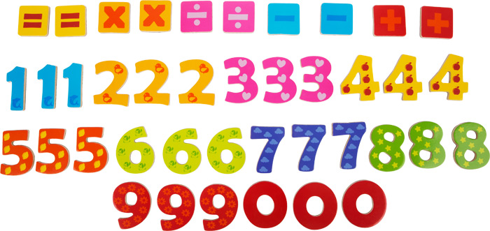 Learning colors and numbers